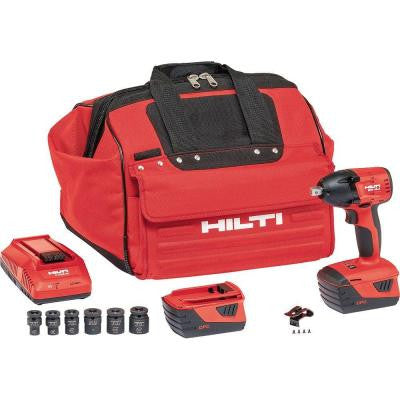 SIW 18-Volt Lithium-Ion 1/2 in. Cordless Impact Wrench