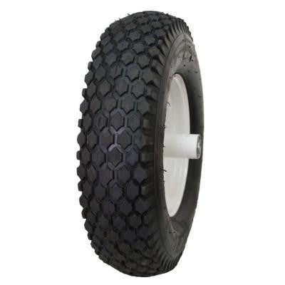 Stud 24 PSI 4.1 in. x 3.5-4 in. 4-Ply Tire and Wheel