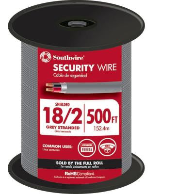 500 ft. 18-2 Shielded Security Cable
