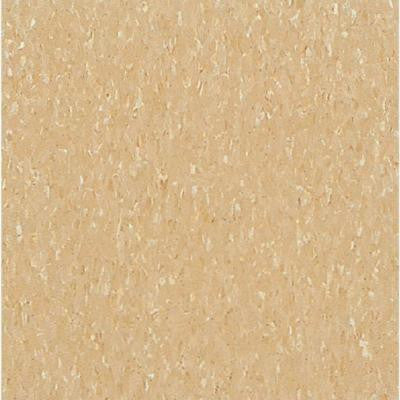 Imperial Texture VCT Camel Beige Standard Excelon Commercial Vinyl Tile - 6 in. x 6 in. Take Home Sample