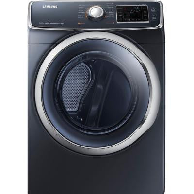 7.5 cu. ft. Gas Dryer with Steam in Onyx