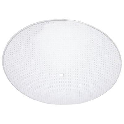 1-1/4 in. Round Clear Dot Pattern Diffuser with 13 in. Width