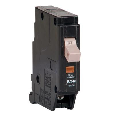 15-Amp 3/4 in. Single Pole Type CHF Breaker