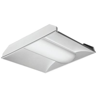 2 ft. Gloss White LED Architectural Troffer