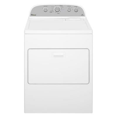 7.0 cu. ft. High-Efficiency Electric Dryer with Steam in White