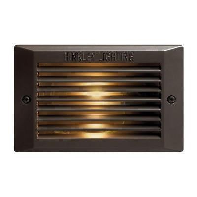120-Volt Line Voltage Bronze Step Light