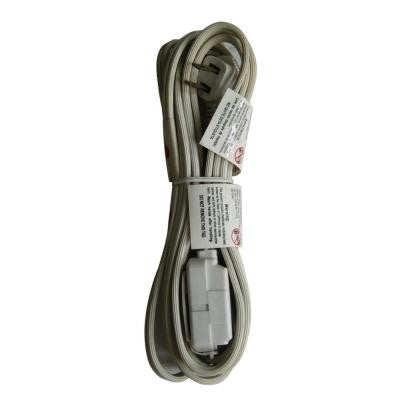 7 ft. 16/2 Slim Cube Tap Extension Cord - White