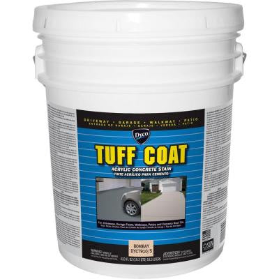 Tuff Coat 5 gal. 7910 Bombay Low Sheen Exterior Waterborne Acrylic Concrete Stain