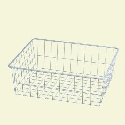 21 in. D x 7 in. H x 17 in. W Ventilated Wire Drawer