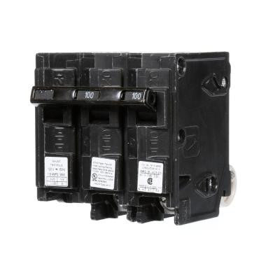 100 Amp Double-Pole Type QP Circuit Breaker with 120-Volt Shunt Trip