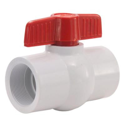 2-1/2 in. PVC Threaded FPT x FPT Ball Valve