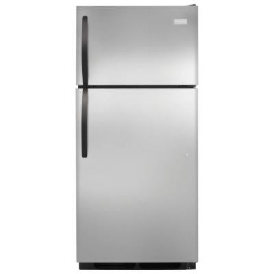 16 cu. ft. Top Freezer Refrigerator in Stainless Steel, ENERGY STAR