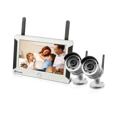NVW-470 Wi-Fi 7 in. LCD and 720p IP 2 Camera Kit