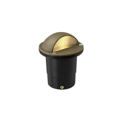 Hardy Island 2-Watt Matte Bronze LED 3000K Warm Well Light