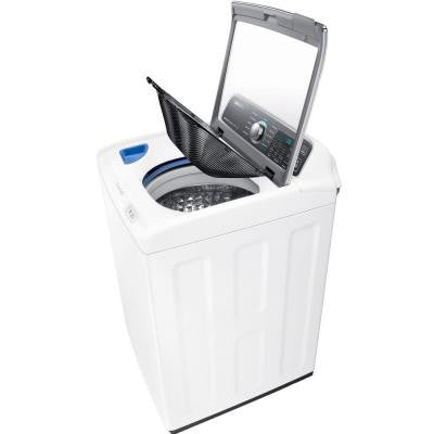4.8 cu. ft. High-Efficiency Top Load Washer with Activewash in White, ENERGY STAR