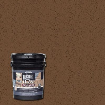4 gal. 10X Advanced Chocolate Deck and Concrete Resurfacer