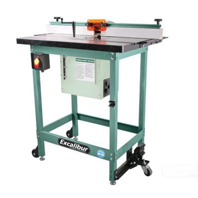 Excalibur Floor Router Table Kit with 2-1/4 in. Dust Collection Port