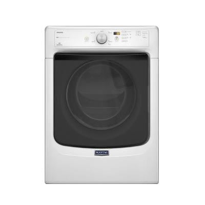 Maxima 7.3 cu. ft. Gas Dryer in White