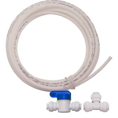 1/4 in. O.D. Tubing Icemaker Kit for Reverse Osmosis Drinking Water Systems and Water Filters