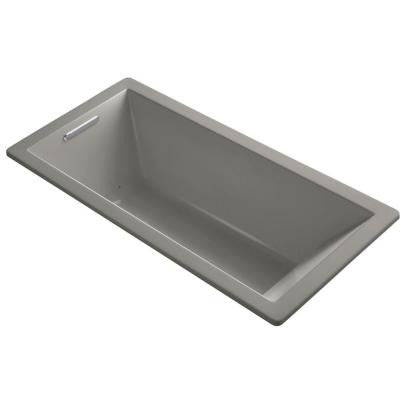 Underscore 5.5 ft. Air Bath Tub in Cashmere