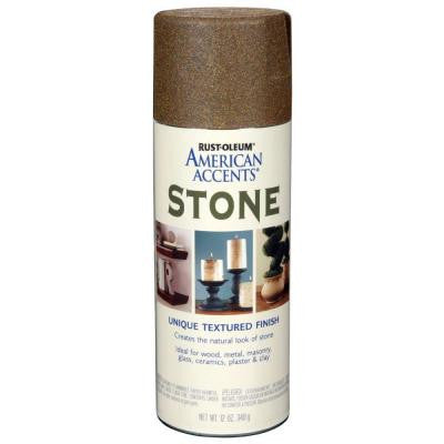 12 oz. Stone Pebble Textured Spray Paint (6-Pack)