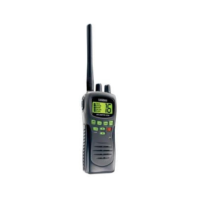 8 Mile 88 Channel Handheld 2-Way VHF Marine Radio (Black)