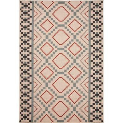 Hand Made Birch 4 ft. x 5 ft. 3 in. Moroccan Area Rug