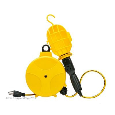 20 ft. Plastic Reel with Incandescent Trouble Light