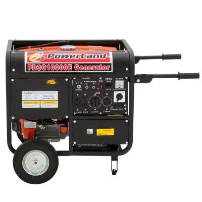 10,000-Watt 1 Tri-Fuel Powered Electric Start Portable Generator
