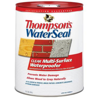 5 gal. Clear Multi-Surface Waterproofer