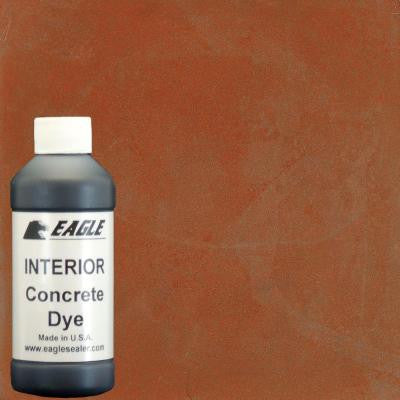 1-gal. Sweet Potato Interior Concrete Dye Stain Makes with Water from 8 oz. Concentrate