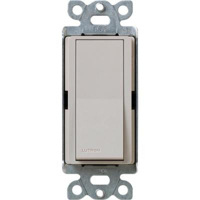 Claro 15-Amp Single-Pole Switch - Taupe