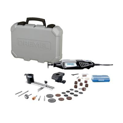 4000 Series 120-Volt Rotary Tool Kit with 2 Attachments and 30 Assorted Accessories