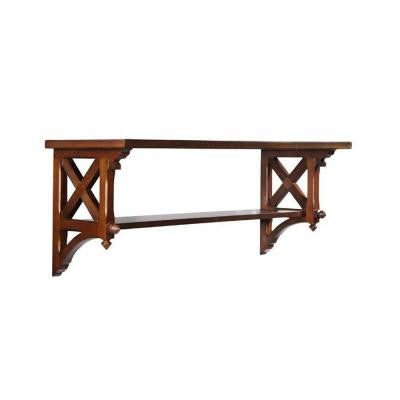 14.25 in. W Large Sequoia Country Double Shelf