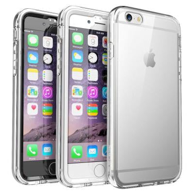 Ares Full Body Transparent Case for Apple iPhone 6 and 6S Case - Clear