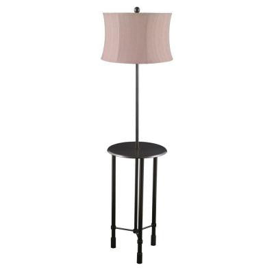 57 in. Oil Rubbed Bronze Metal Floor Lamp