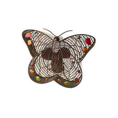 16 in. Butterfly Figurine Fan