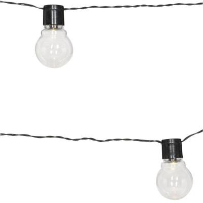 Solar Powered Clear Globe String Light