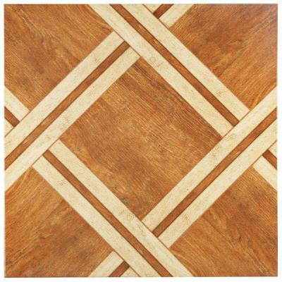 Alaska Caramelo 17-3/4 in. x 17-3/4 in. Ceramic Wall and Floor Tile (21.85 sq. ft. / case)