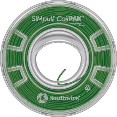 SIMpull CoilPAK 1000 ft. 12 Solid CU THHN-THWN-2 Wire - Green