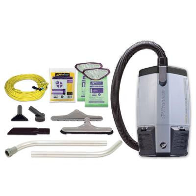 FS 6 Backpack Vacuum with Restaurant Tool Kit