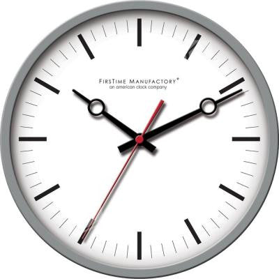 12 in. Round Moderna Wall Clock