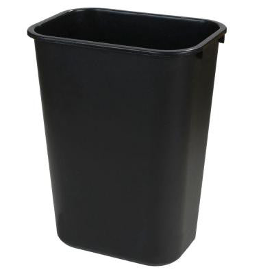 3.25 Gal. Black Trash Can (12-Case)