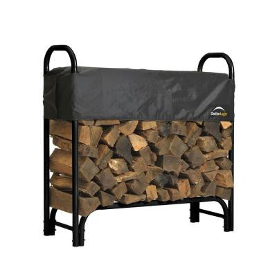 4 ft. Firewood Rack with Cover