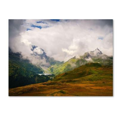 14 in. x 19 in. Peaceful Switzerland Canvas Art