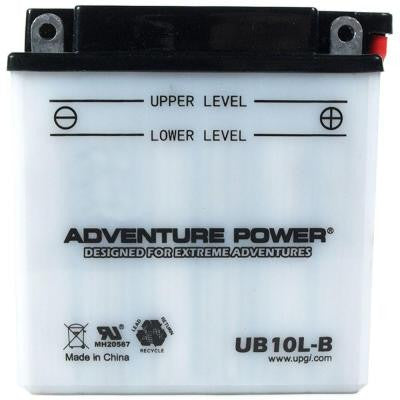 Conventional Wet Pack 12-Volt 11 Ah Capacity F Terminal Battery