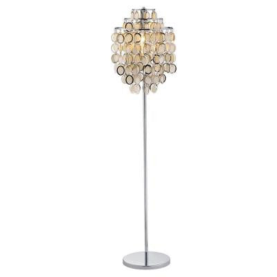 Shimmy Chrome 64 In. Floor Lamp