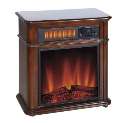 1,400-Watt 5,120 BTU Moveable Quartz Electric Fireplace