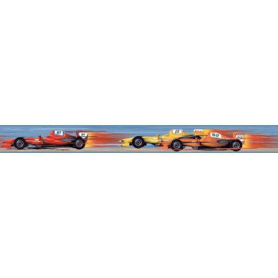 6 in. Cool Kids Race Car Border