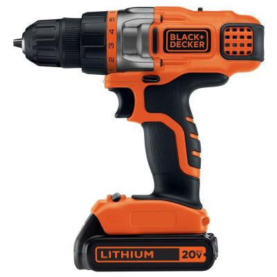 20-Volt Max Lithium-Ion Cordless Drill/Driver
